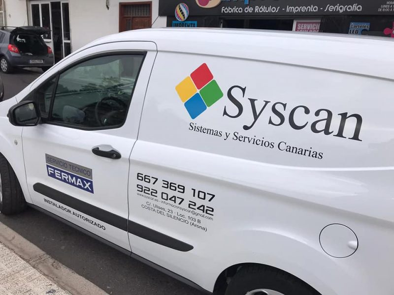 furgoneta syscan